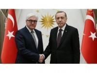 Cumhurbaşkanı Erdoğan İle Almanya Cumhurbaşkanı Steinmeier Görüştü