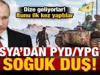 Rusya'dan PYD/YPG'ye büyük şok! İlk kez yaptılar