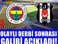 Şenol Güneş Yaralandı! Olaylı Fenerbahçe - Beşiktaş maçının galibi kim? Şok Açıklama