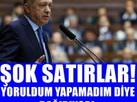 Soner Yalçın: Erdoğan yoruldum, yapamıyorum diye bağırıyor