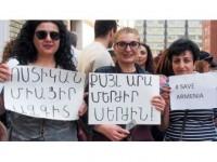 Ermenistan'da Sarkisyan Karşıtı Gösterilerin Önderine Gözaltı