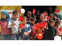 Tsk'nın Cinderes'te Kurduğu Hastanenin Çocuk Bölümü Açıldı