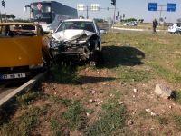 Adıyaman'da kaza Hulusi B idaresindeki araçta 7 yaralı