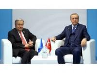 Cumhurbaşkanı Erdoğan İle Bm Genel Sekreteri Guterres Görüştü
