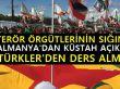Türkiye'nin tepkisine Almanya'dan Küstah Cevap!