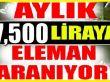 En az lise mezunu : Aylık 7 bin 500 liraya eleman aranıyor