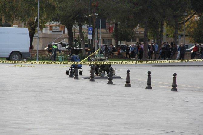 Sivas'ta bomba paniği