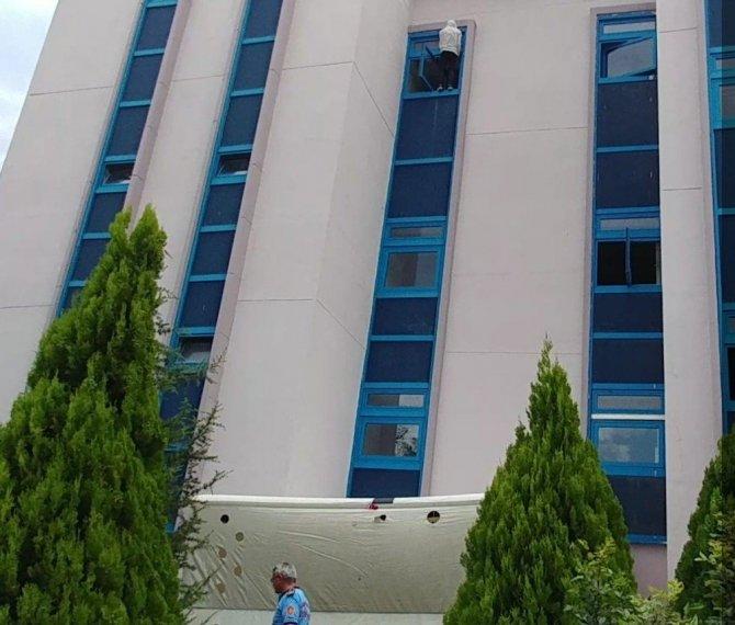 Ankara Üniversitesi 50. Yıl Gölbaşı Yerleşkesinde İntihar Girişimi