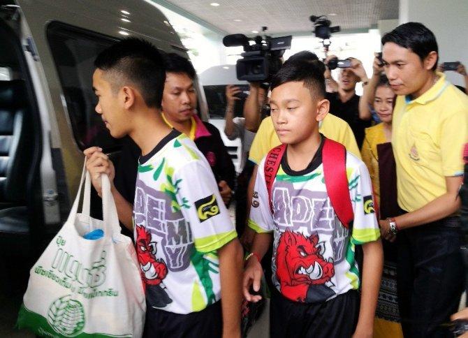 Taylandlı Çocuklar Taburcu Oldu