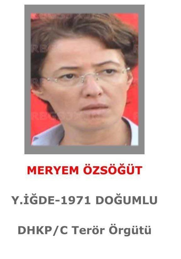 İsmi 'Gri Liste'de Yer Alan DHKP-C'li Meryem Özsöğüt Yakalandı