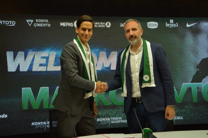 Sırp Marko Jevtovic Atiker Konyaspor'da