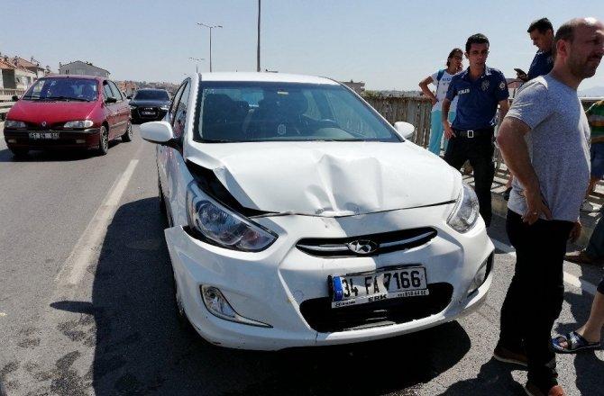 Samsun'da 4 Aracın Karıştığı Zincirleme Trafik Kazası: 3 Yaralı