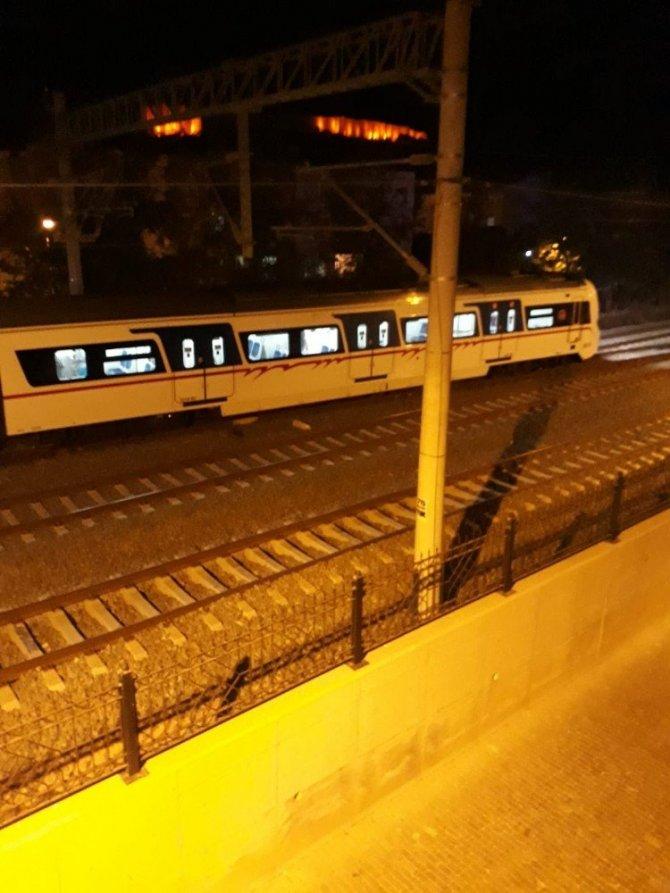 Tren Raydan Çıktı, Olay yerinden ilk görüntüler geldi